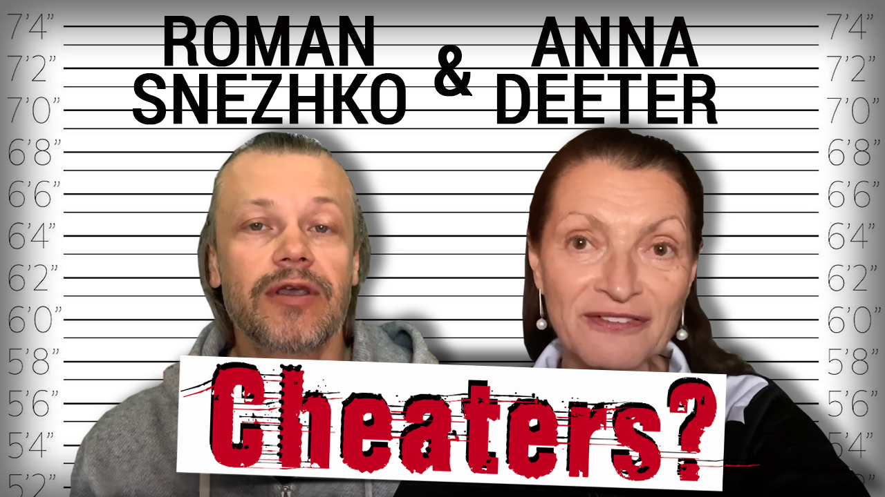 Anna Deeter and Roman Snezhko