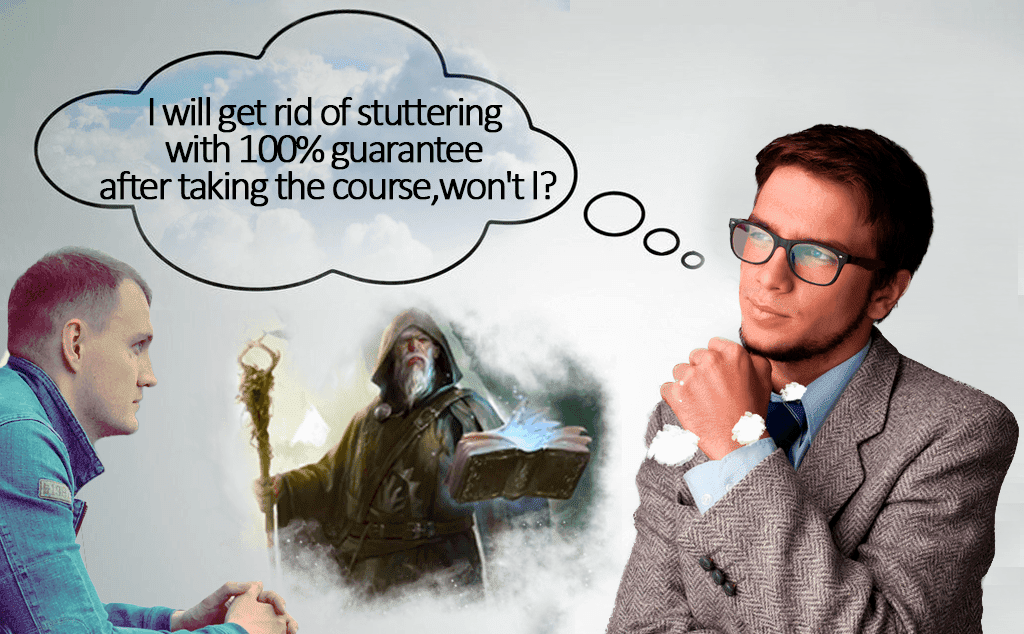 get rid of stuttering